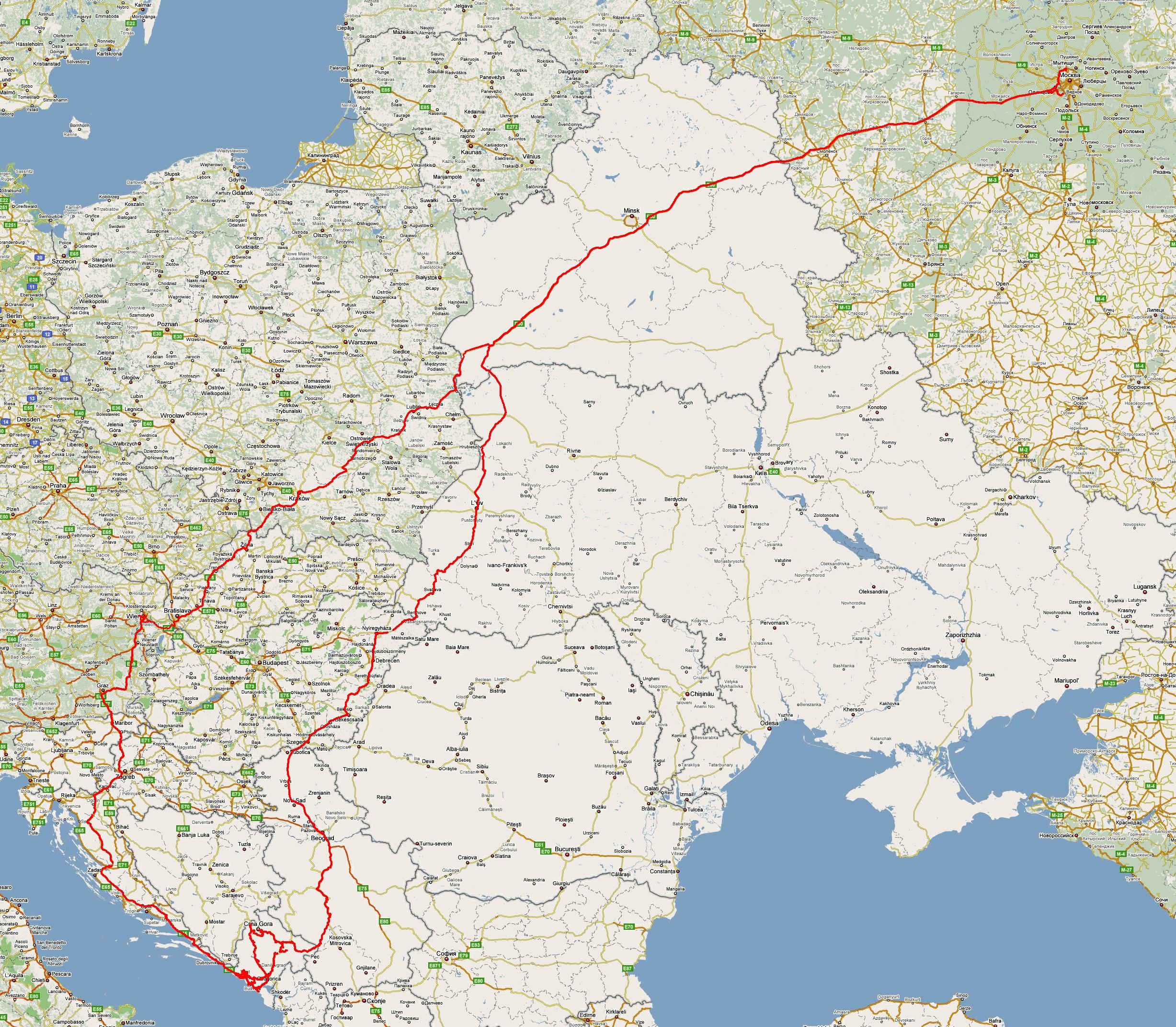 Дешевые туры в черногорию из москвы